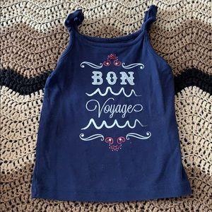 Girls Bon Voyage Tank Top